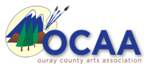 Ouray County Arts Association logo