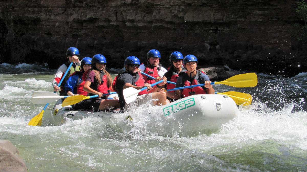 RIGS Adventure Co Rafting Guides