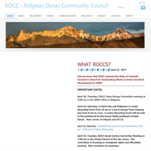 Ridgway-Ouray Community Council