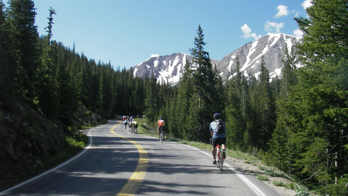 Ride the Rockies stops in Ridgway