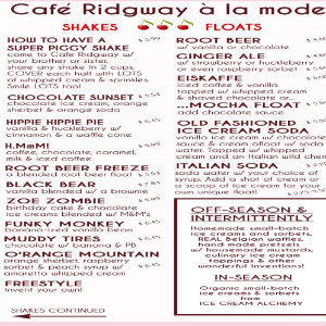 Cafe Ridgway a La Mode, LLC