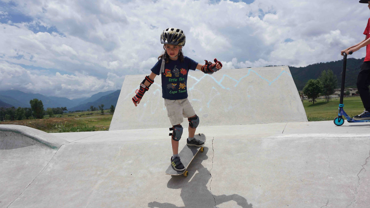 World-Class Bowl And Amazing Views At Ridgway Skate Park
